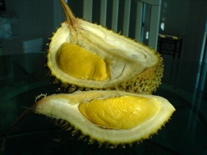 Durian. Try them the next time you're in Malaysia
